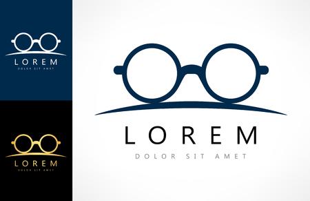 眼鏡のロゴ