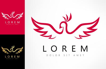 bird logo Ilustracja