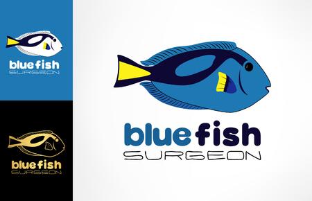 Fish surgeon logo Zdjęcie Seryjne - 81352557