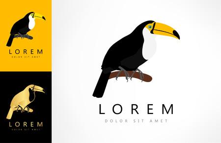 Toucan logo Ilustracja