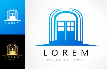 door logo Ilustracja
