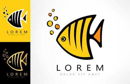 Angel fish logo