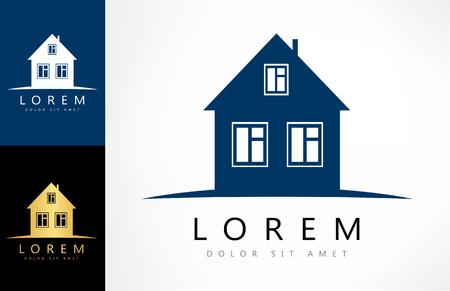 House Vector. Real Estate Logo Design.