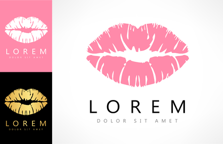 lips logo Ilustracja