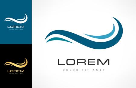 wave logo Zdjęcie Seryjne - 81509028