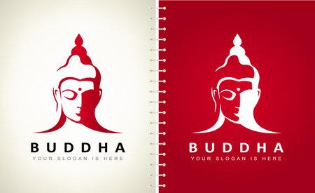 Buddha logo vector design. Logo design.