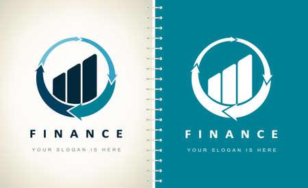 diagram vector logo. Design illustration.