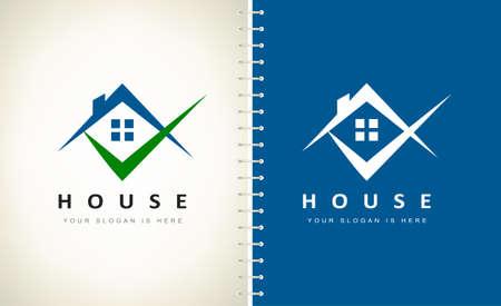 House logo Vector. Real Estate Design. Logo