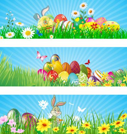 Frohe Ostern Standard-Bild - 27515741