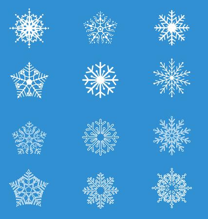 flocon de neige: flocon de neige