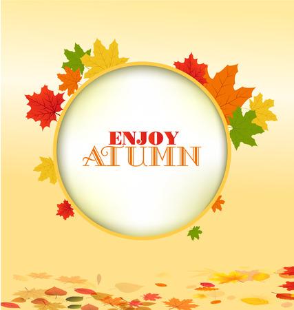 autumn background: autumn background Illustration