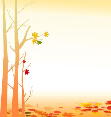 autumn background Illustration