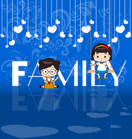 baby and mother: Happy Family Day