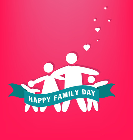 family man: Happy Family Day