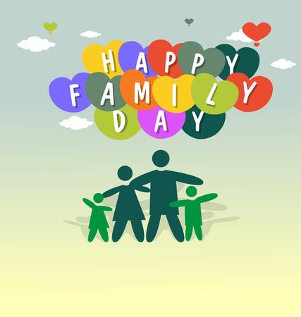 happy family: Happy Family Day