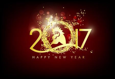 happy: Merry christmas happy new year 2017
