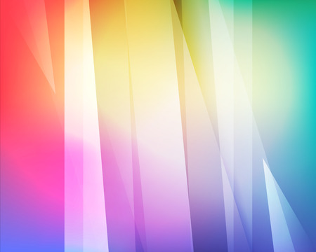 Abstract light, colors, hexagon background Illustration