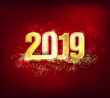 Bonne année 2019. Nouvel an chinois. Année du cochon