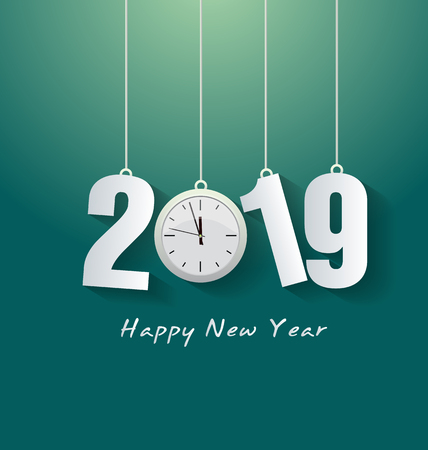 Felice anno nuovo 2019. Capodanno cinese. Anno del maiale