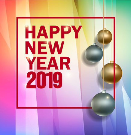 Happy new year 2019 and Merry Christmas