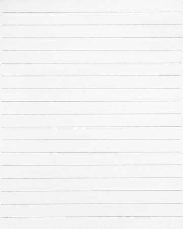 Blank line paper background. White paper and dots line for writing or memo. Reklamní fotografie
