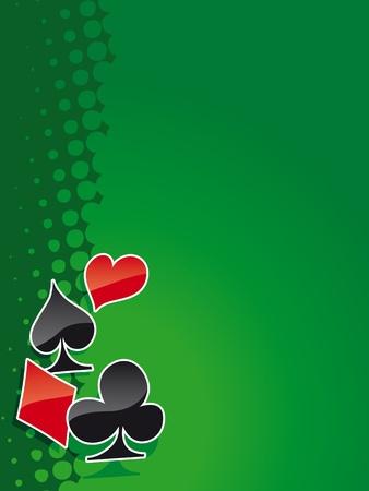 Poker and casino background (magazine, web)