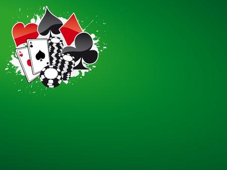 Fondo de póquer y casino (revista, web)