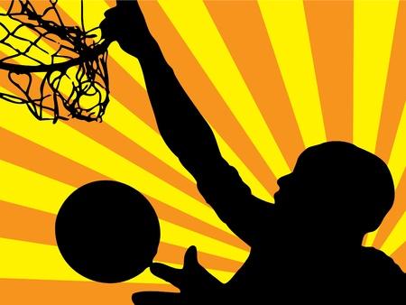 nba: NBA star jumping (background, wallpaper, flyer, web...)