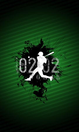 Abstract baseball background with space (poster, web, leaflet, magazine) Stock Photo - 14031904