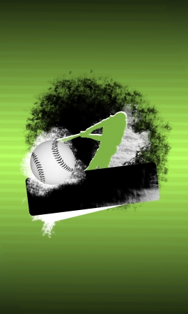 Abstract baseball background with space (poster, web, leaflet, magazine) Stock Photo - 14032105