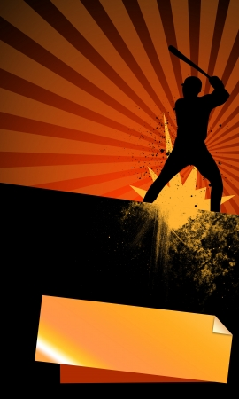 Abstract baseball background with space (poster, web, leaflet, magazine) Stock Photo - 14031885