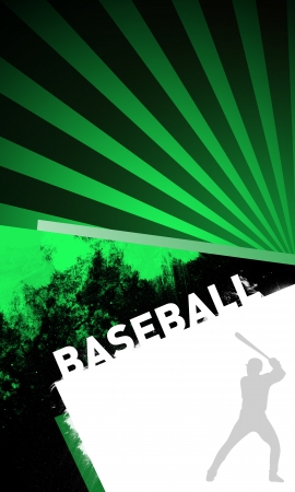 Abstract baseball background with space (poster, web, leaflet, magazine) Stock Photo - 14032107