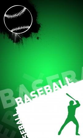 Abstract baseball background with space (poster, web, leaflet, magazine) Stock Photo - 14032102