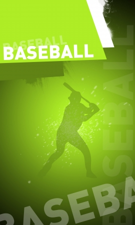 Abstract baseball background with space (poster, web, leaflet, magazine) Stock Photo - 14031589