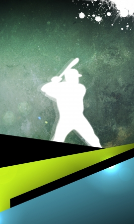 Abstract baseball background with space (poster, web, leaflet, magazine) Stock Photo - 14032317