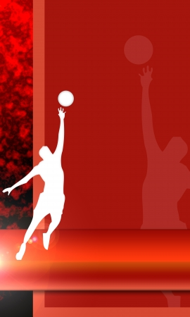 rebound: Basketball background with space  poster, web, leaflet, magazine