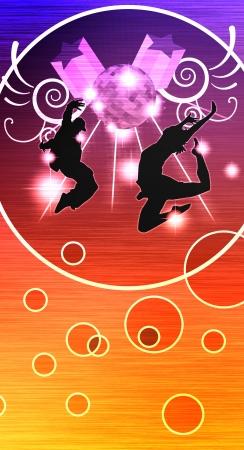 baile hip hop: Street dance cartel de fondo, web, folleto, revista