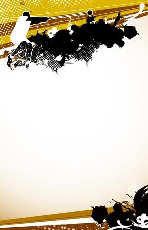 lancer marteau: Lancer du marteau fond de l'espace (affiche, web, plaquette, magazine) Banque d'images