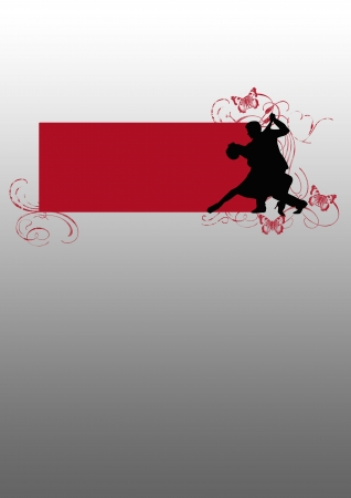 bailarines de salsa: Las veladas de tango de fondo (carteles, web, folletos, revistas)