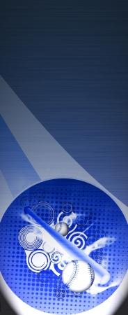 Résumé de base-ball grunge objets d'arrière-plan avec l'espace