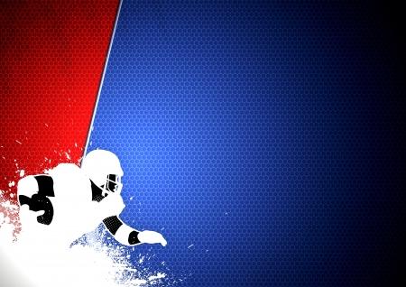 campeonato de futbol: Abstract grunge de f�tbol americano de fondo con espacio