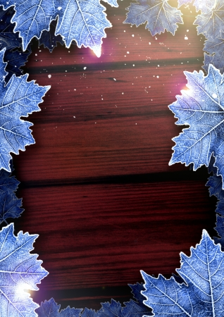 Winter Happy Christmas party poster background with space photo