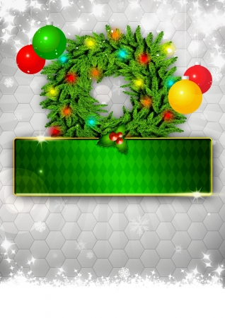 Christmas business or party photo background with space Stock Photo - 16839677