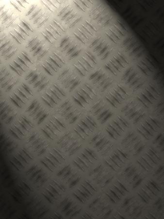 enlightening: metal plate enlightening for background (wallpaper, leaflet, newspaper...) Stock Photo