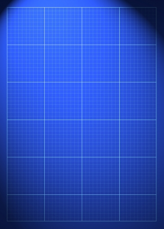 lomo: Blueprint plan poster or flyer background with space