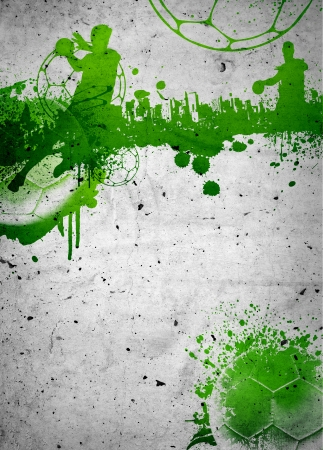 Abstract grunge handball poster or flyer background with space Banco de Imagens