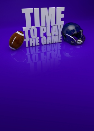super bowl: Time to play the game american football background