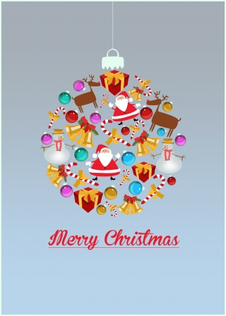 free christmas: Merry Christmas decoration poster or flyer background with space