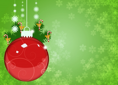 free christmas background: Merry Christmas decoration poster or flyer background with space