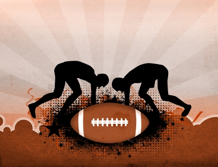 super bowl: American football sport poster